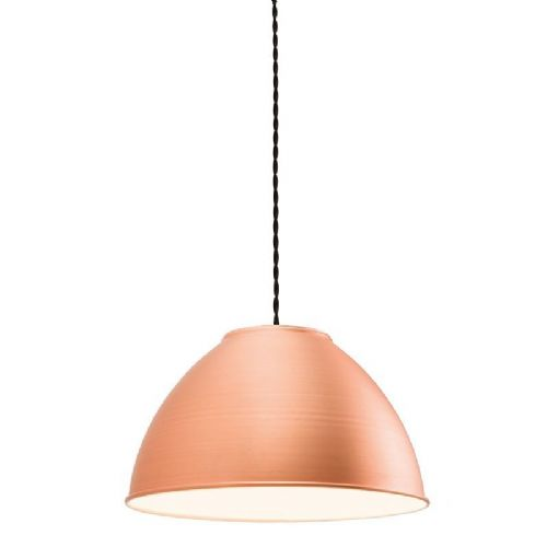 Matt copper plate Pendant Light 61328 by Endon